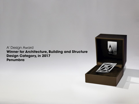 "Bronze Winner for Architecture, Building and Structure Design Category, ""Penumbra"""