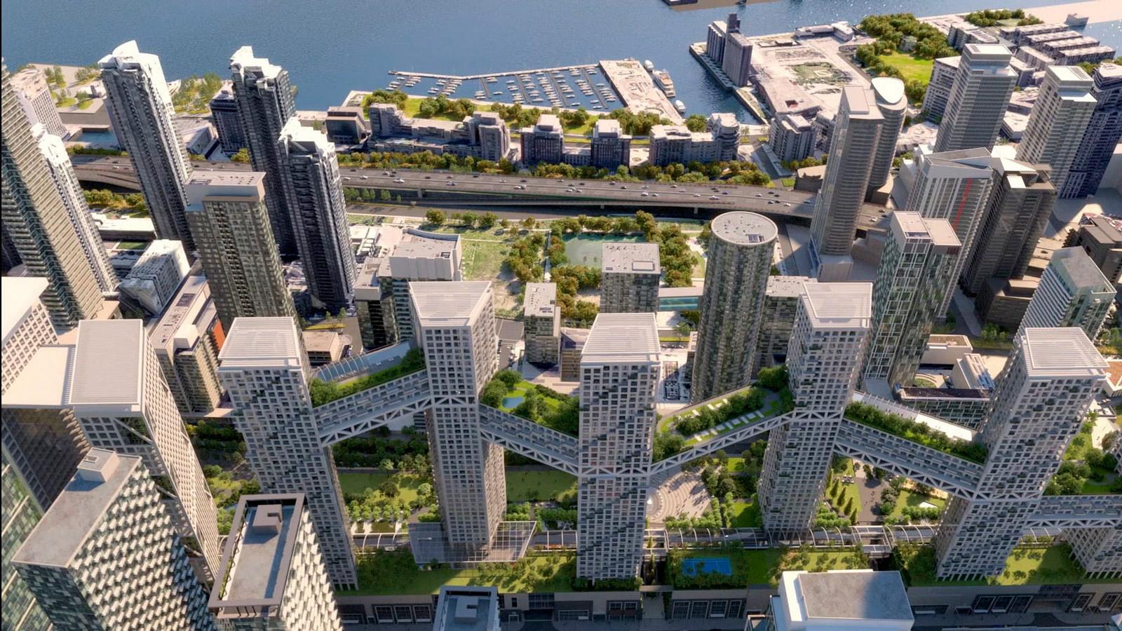 نگاهی به پروژه Orca طراح چند منظوره Safdie Architects