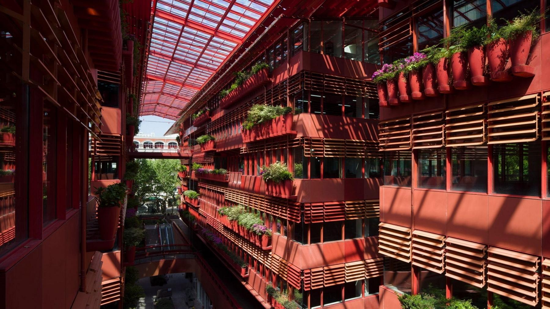 """پروژه ی شهری جدید """" جان نوول """" در شانگهای"""