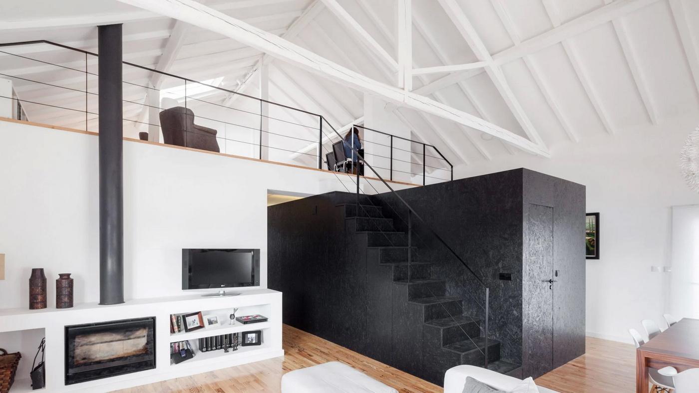 10 نمونه موفق در استفاده از پله داخلی در فضاهای مسکونی